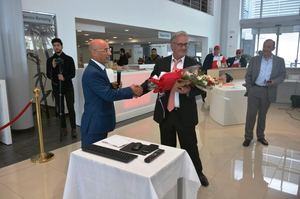 Samir Landolsi, directeur général de JMC, a tenu à remercier les nouveaux loueurs de voitures ayant intégré des véhicules Honda dans leur parc.