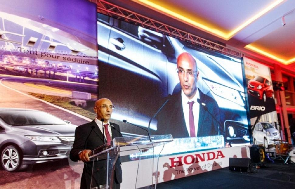 Samir Landolsi, directeur général de JMC, représentant Honda pour la Tunisie.
