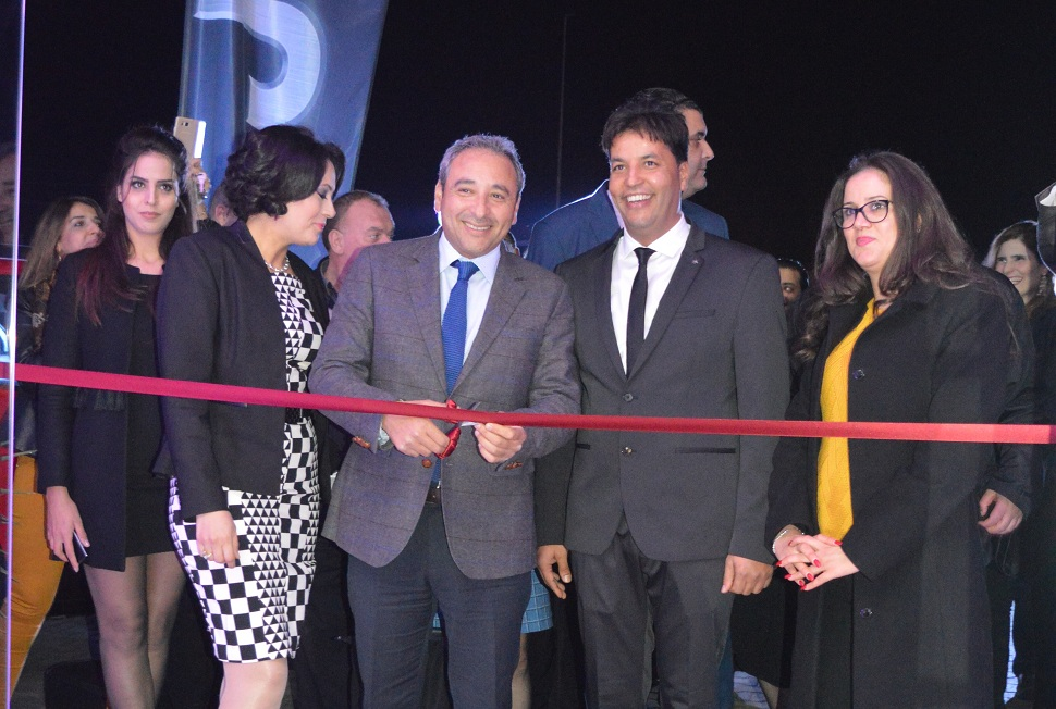 Inauguration de la nouvelle agence.