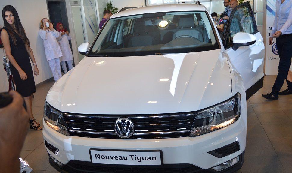 volkswagen le nouveau tiguan sur les routes tunisiennes sayarti. Black Bedroom Furniture Sets. Home Design Ideas