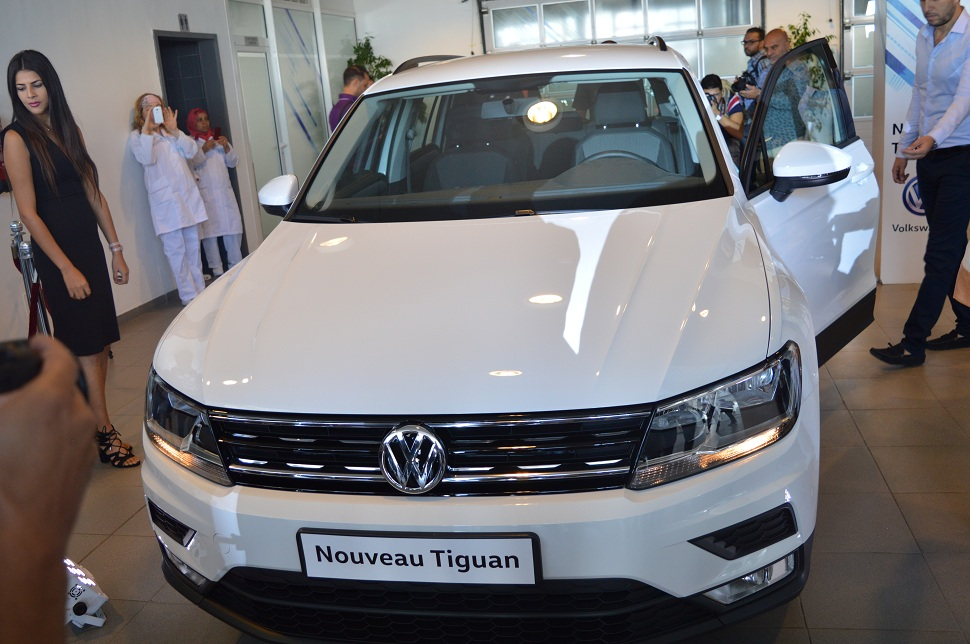 volkswagen le nouveau tiguan sur les routes tunisiennes sayarti. Black Bedroom Furniture Sets. Home Design Ideas