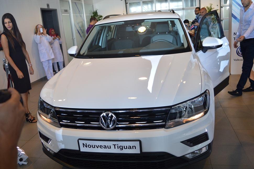 volkswagen le nouveau tiguan sur les routes tunisiennes. Black Bedroom Furniture Sets. Home Design Ideas