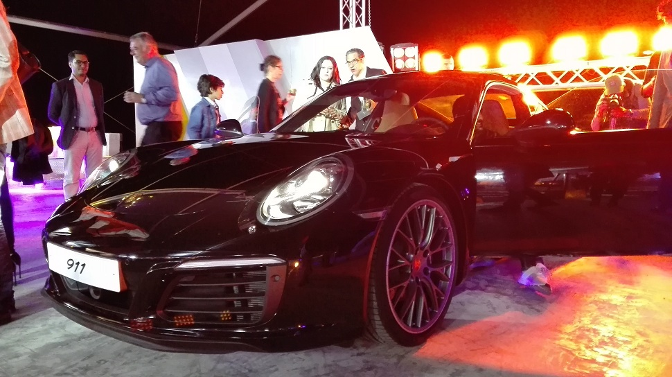 porsche  lancement officiel de la 911  u00e0 gammarth