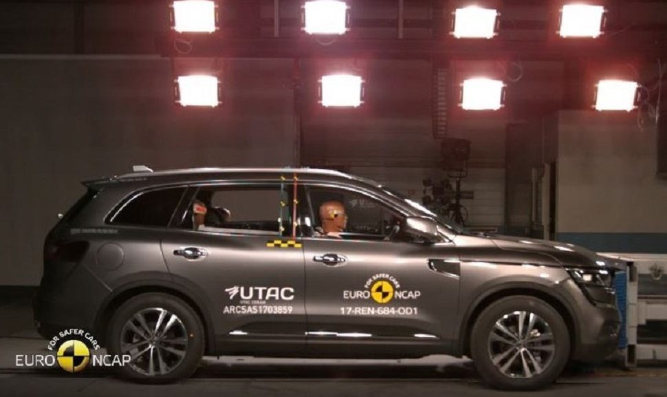 renault koleos note maximale de 5 toiles aux tests euro ncap sayarti. Black Bedroom Furniture Sets. Home Design Ideas