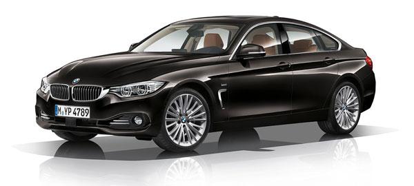 BMW SÉRIE 4 GRAN COUPÉ LUXURY LINE 418i plein