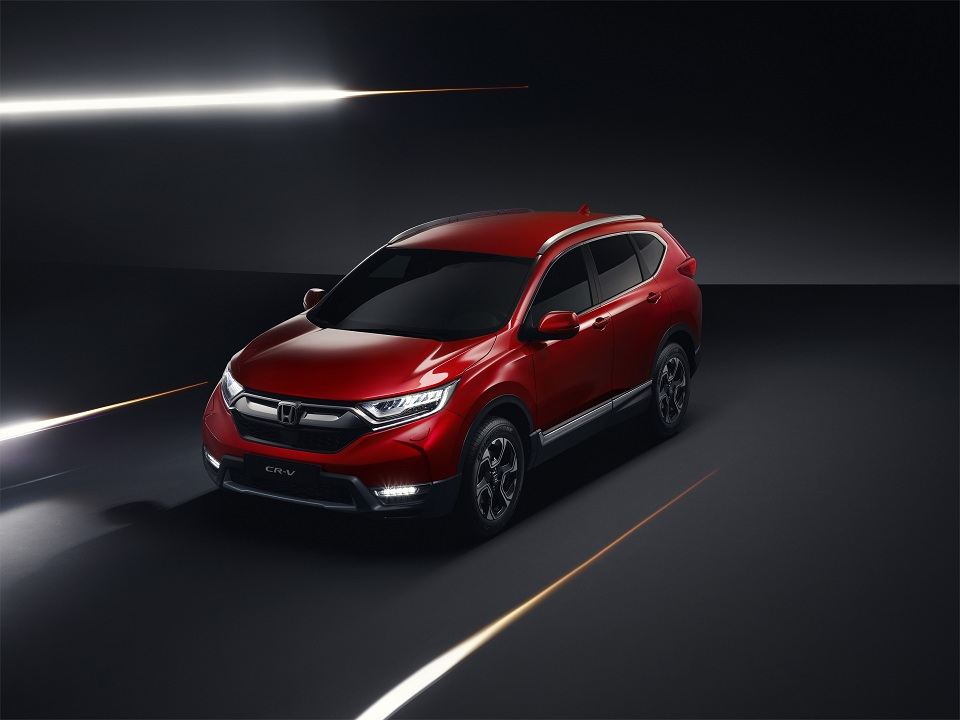 automobile-honda-CR-V-tunisie-rouge