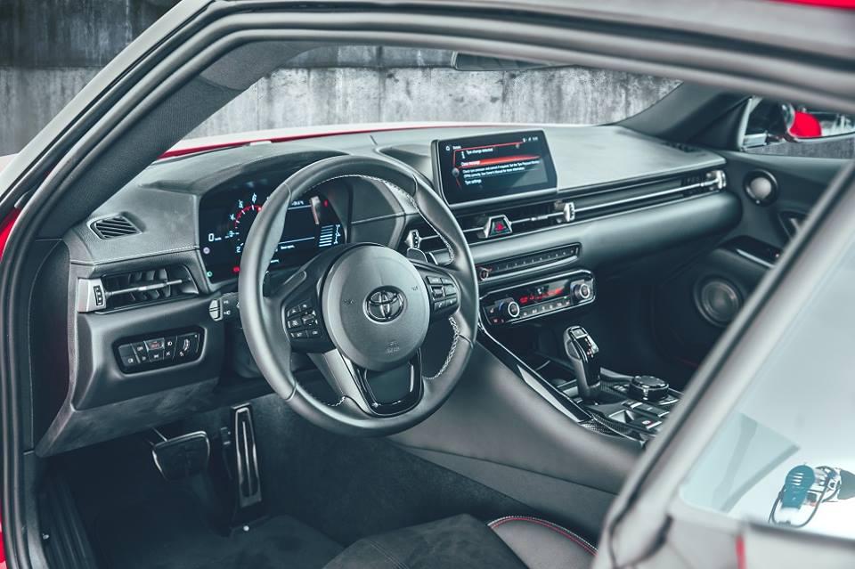 Toyota intérieur Supra