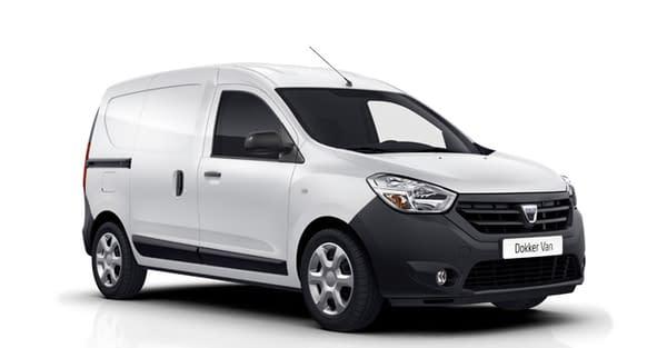 Dacia Dokker Van Lux vitrée plein