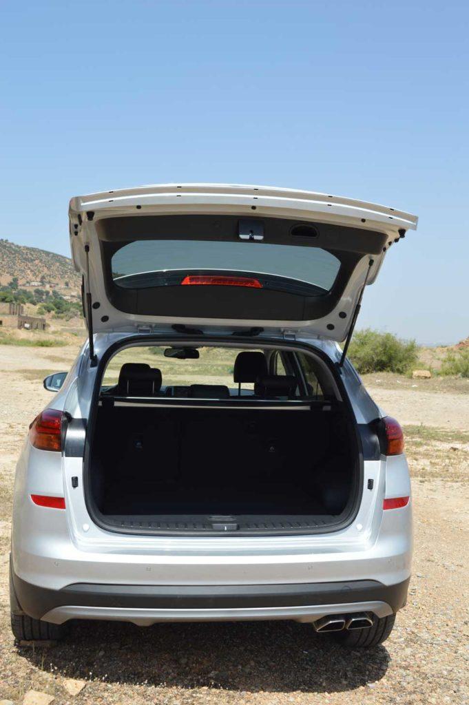 Hyundai Tucson compartiment arriere