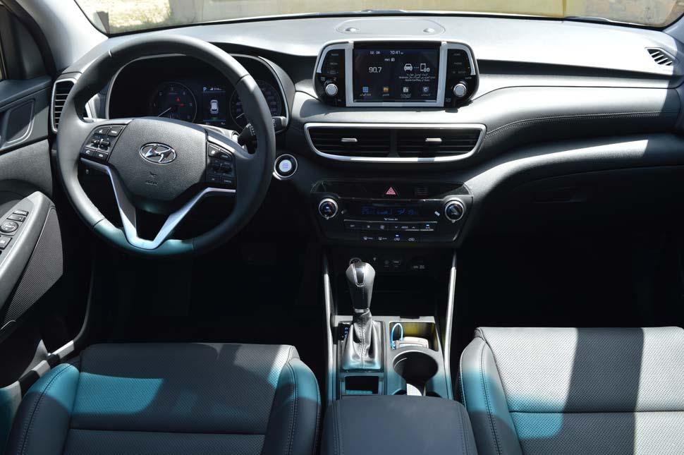 Hyundai Tucson intérieur