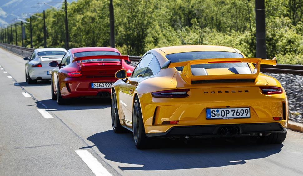 aileron Porsche 911