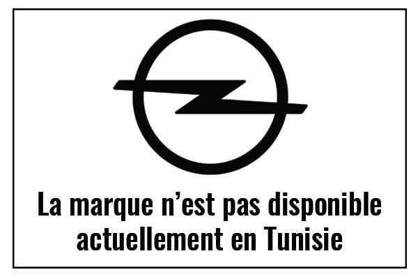 opel tunisie prix piéce de rechange